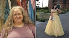 The heartbreaking story behind woman's second-hand dress store