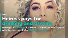 Norwegian billionaire hit with $30,400 drunken driving fine