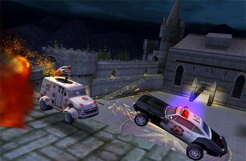 Twisted Metal: Head On - Extra Twisted Edition stuffed with features