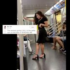 People Are Celebrating The Work That Went Into This Woman's Subway Selfie Photo Shoot