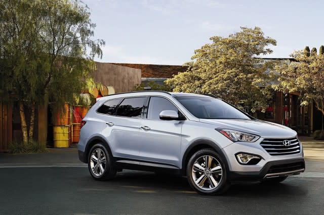 2016 2017 Hyundai Santa Fe Recalled For Seatbelt Wiring Problem