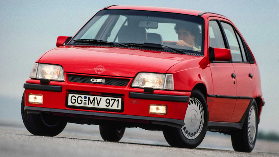 Opel Kadett GSi 1984-1991: un éxito incontestable
