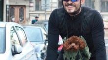 Orlando Bloom is getting flak for carrying his dog in a bag while on a motorbike