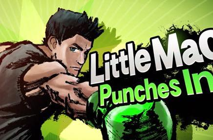 Little Mac enters the Super Smash Bros. ring