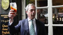 Donald Trump has been taking advice on Theresa May's Brexit deal from Nigel Farage