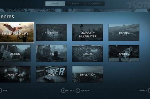 Valve launching Steam Big Picture Mode later today, look at its snappy UI right now (update: it's live!)