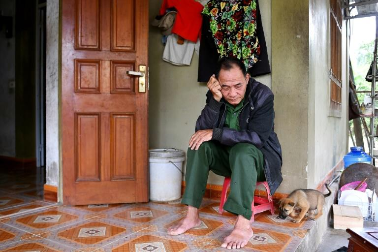 Distruaght families fear their loved-ones were among the people found dead (AFP Photo/Nhac NGUYEN)