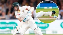 'Kind of helpless': Steve Smith scare left Aussie hero 'sick'