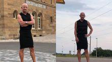 Mark Bryan, el hombre que triunfa en Instagram tras decidir ponerse faldas y tacones