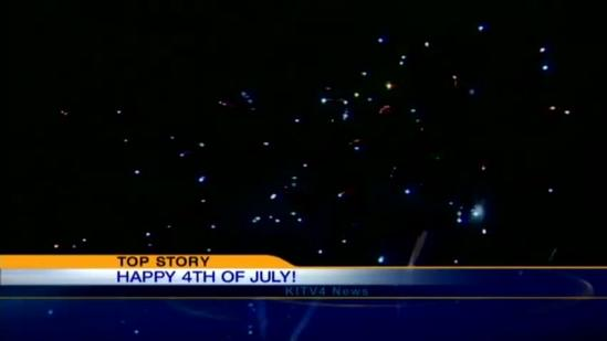 Ala Moana attracts thousands for fireworks show