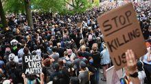 George Floyd protests: violence and looting subside as US demonstrators defy curfews in largely peaceful rallies