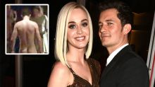 Orlando Bloom gets naked for Katy Perry... and the rest of us