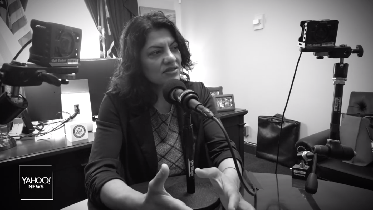 Rep. Rashida Tlaib says her Palestinian ancestors providing 'safe haven' for Jews following Holocaust