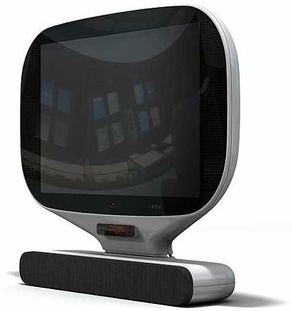 Humax LCD TV concept: The Jetsons called, they want their stuff back
