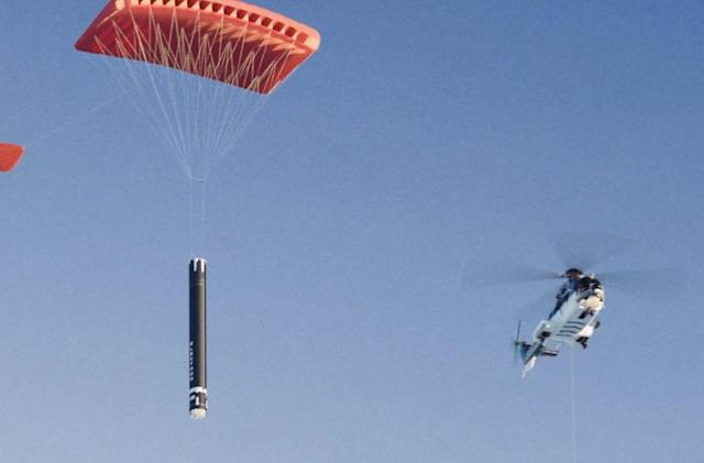 Rocket Lab will reuse its rockets by catching them with a helicopter