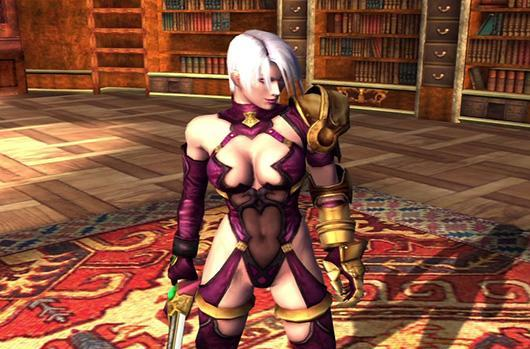 Nightmare, Ivy cross swords in latest Soul Calibur 2 HD Online footage