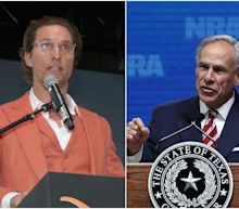 Hollywood star Matthew McConaughey has a double-digit lead over Gov. Greg Abbott in latest Texas gubernatorial poll
