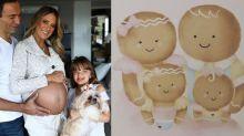 Família biscoito! Ticiane, César Tralli e as filhas já estão enchendo a web de amor