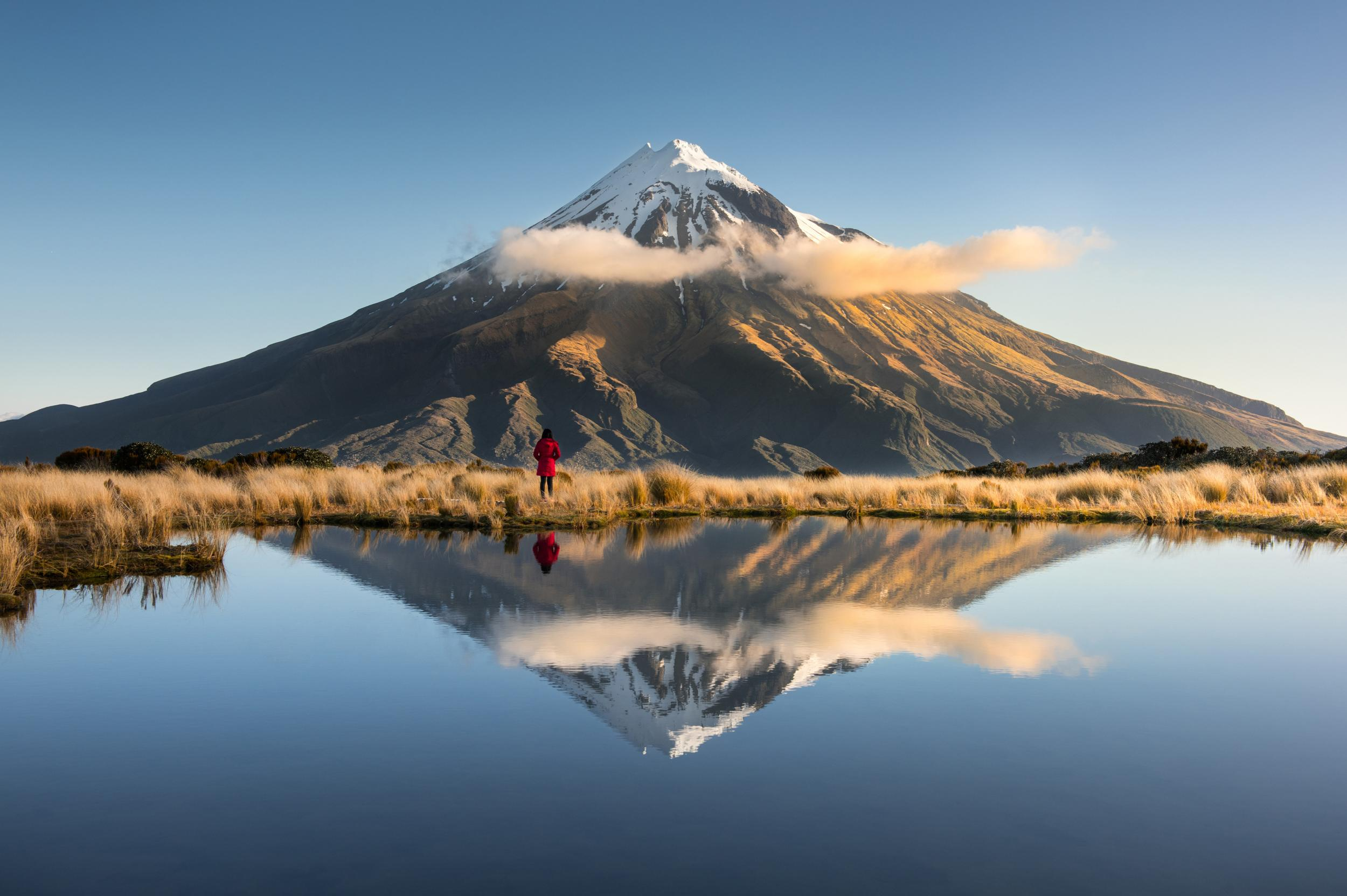 """Taranakiis one of <a href=""""http://travel.aol.co.uk/tag/new+zealand"""" target=""""_blank"""">New Zealand</a>'s best-kept secrets: only two per cent of New Zealand's international visitors currently bother to venture out this way. But a new motto – 'A Little Bit Out There' – offsets the region's remote location. In nearby Egmont National Park, meanwhile, a magnificent hiking trail is emerging from the shadows to challenge the Tongariro Alpine Crossing as the country's finest one-day walk."""