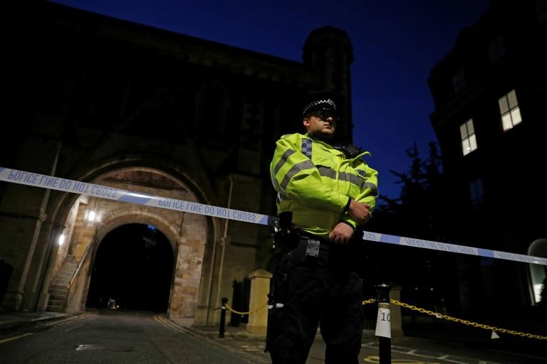 Police said they had launched a murder investigation and were not treating the incident as terror-related
