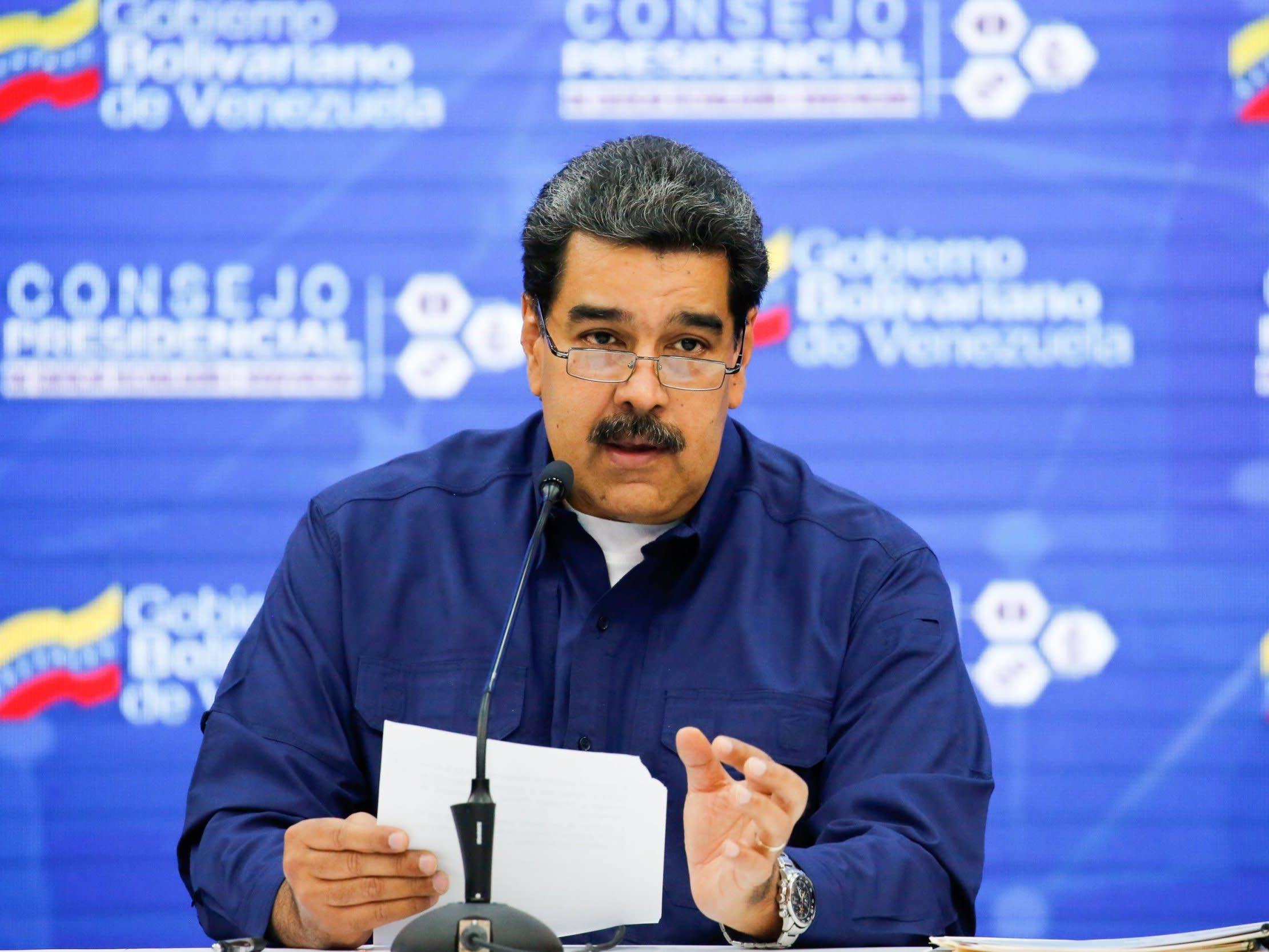 Nicolas Maduro attacks Trump's 'almost Nazi-style' speech after US president calls on military to abandon Venezuela leader