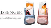 """Kissenger"", l'application mobile d'échange de baisers"