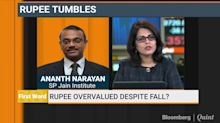 Rupee Still Overvalued At Current Levels: Ananth Narayan