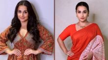 5 Best Ethnic Looks Of Vidya Balan From The E-Promotions Of Her Film Shakuntala Devi