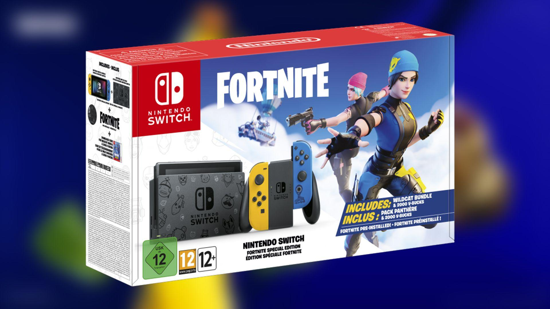 Get A Victory Royale With This Fortnite Themed Nintendo Switch