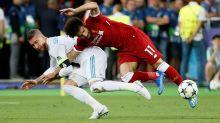 """Salah sur Ramos : """"C'est bien que quelqu'un qui t'a fait pleurer te fasse rire"""""""