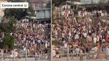 North Bondi beach party under investigation for Covid 'breach'