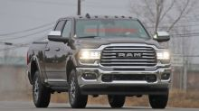 2020 Ram HD trucks revealed in spy shots, along with interior