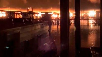 At least 8 dead in Alabama boat dock fire