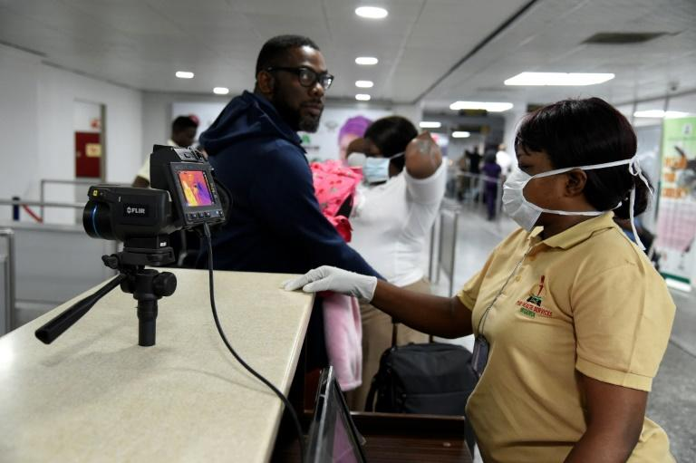 Controls have been set in place at Lagos airport