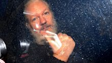 Julian Assange's mother attacks Theresa May over 'thuggish, brutal, unlawful arrest'