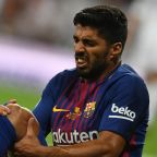 New blow for Barcelona as Suarez ruled out for a month