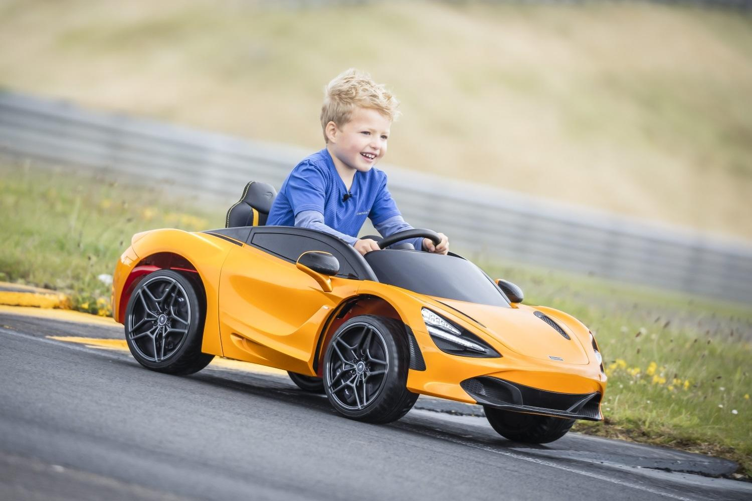 Even A Toddler Can Drive This McLaren 720S