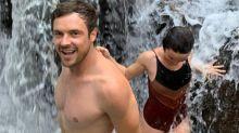 "Sergio Guizé e Bianca Bin se divertem na cachoeira: ""Limpeza"""