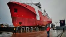 Shipbuilding program hits snag as inspection finds defective welds in hull