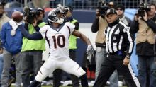 Emmanuel Sanders' wife says in divorce case that he skipped a Broncos practice to party