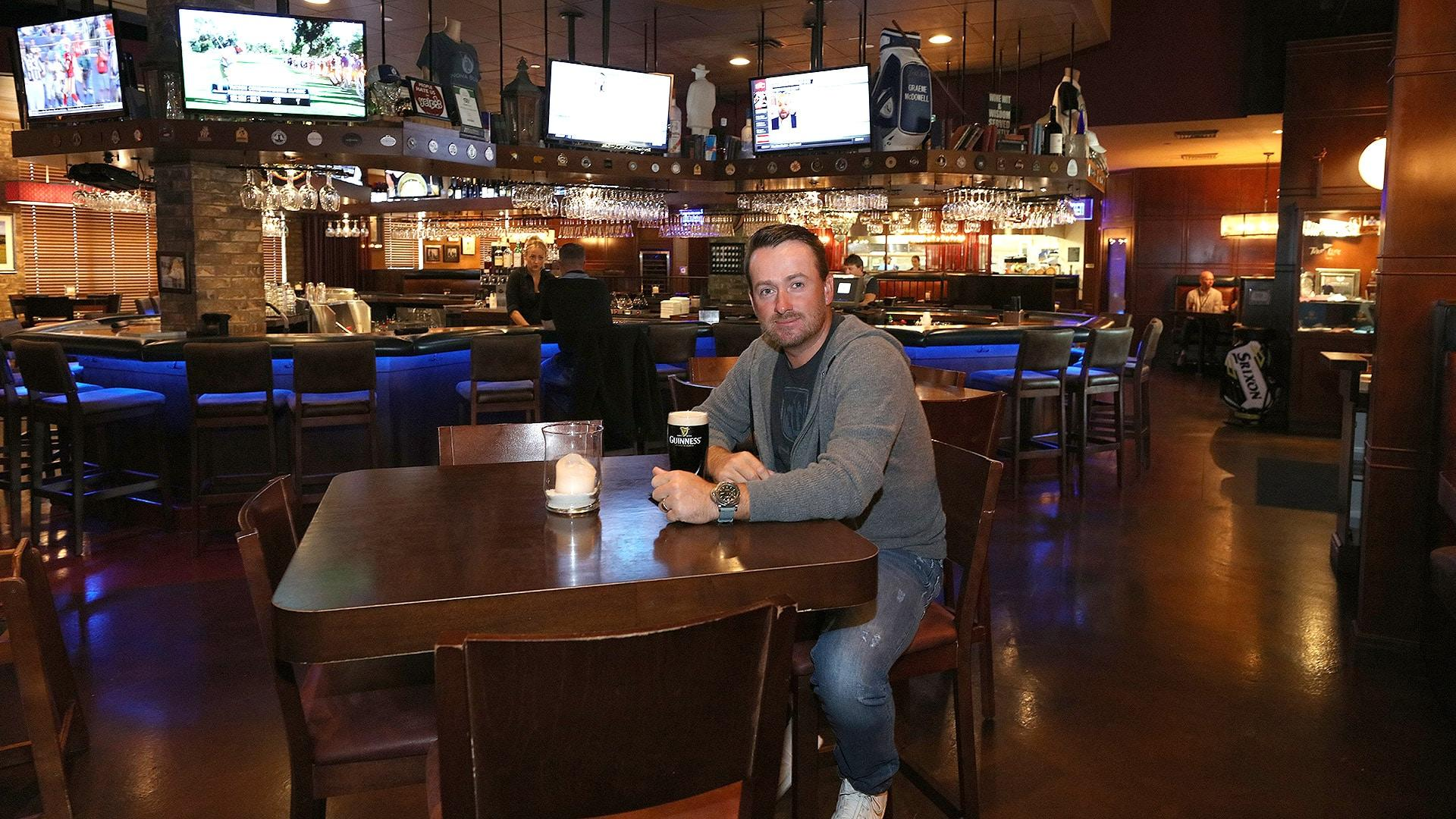 Graeme McDowell feeling business impact of pandemic with Nona Blue Taverns closed