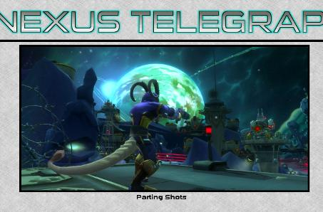 The Nexus Telegraph: In which no WildStar injuries happened