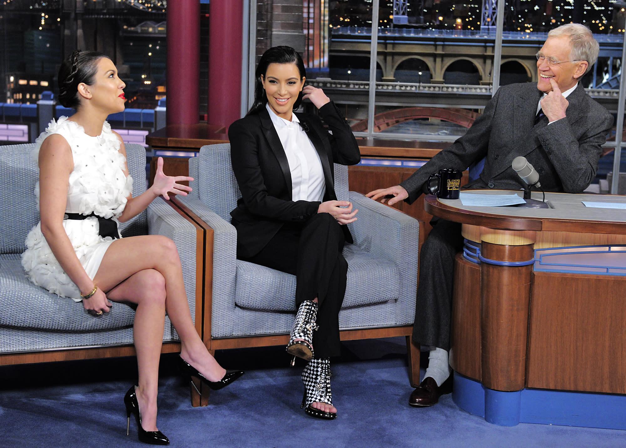 David Letterman says he 'misjudged' Kim Kardashian: 'I had used her as a joke'