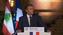 "Charlie Hebdo: Emmanuel Macron salue la ""liberté de blasphémer"" en France"