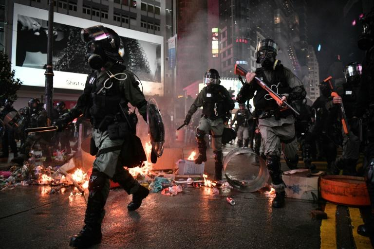 Amnesty accuses Hong Kong police of arbitrary arrests, torture