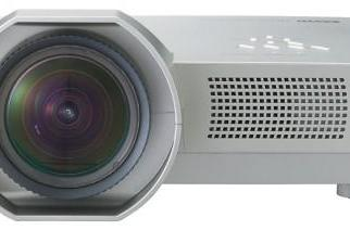Sanyo's LP-XL40 wide-angle projector for short-range duty