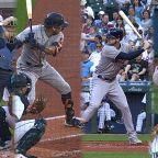 Astros' six-run 1st inning