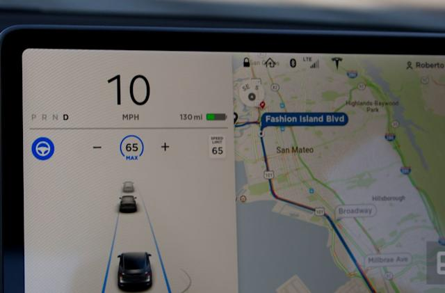 Tesla restores free premium in-car internet for some owners