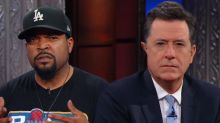 Ice Cube Gives Stephen Colbert a New Rap Persona and Scowl
