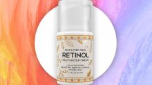 """""""Wrinkles and lines are almost gone"""": Over 3,500 Amazon shoppers are aglow over this retinol cream"""